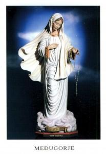 Matka Boska - Gospa z rozancen - kor. Fot Pictur
