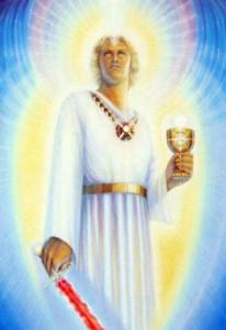 św. Michał z kielichem