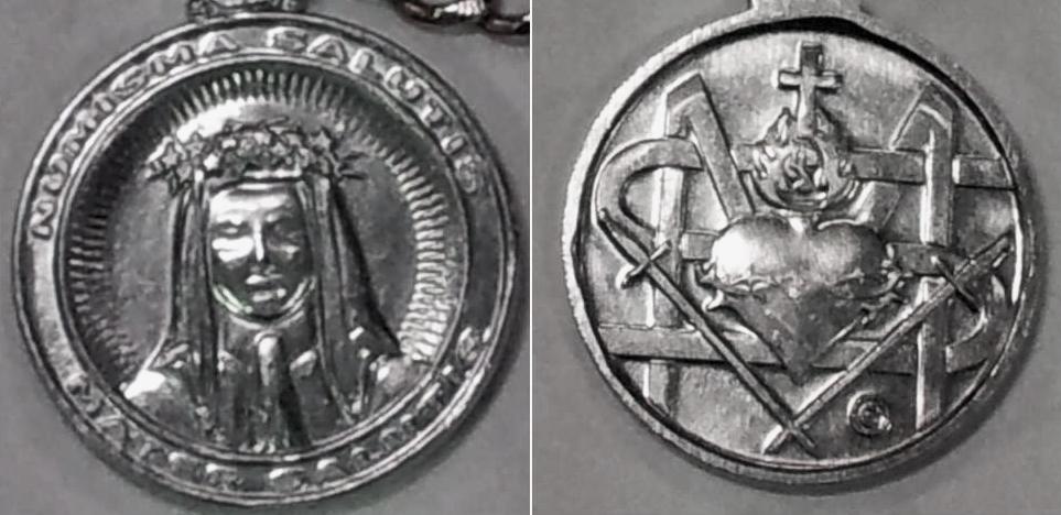 Medalik Zbawienia - 1 i 2 razem