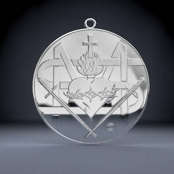 Medalik Zbawienia - rewers